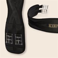 kieffer Sattelgurt AIR TEX, schwarz, 125 cm