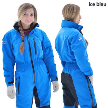 Coldy Damen Reitoverall HGG-Reitsport, ice blau
