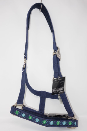 Equest Halfter Casual Dual Plus, marine/casual marine Gr. Pony